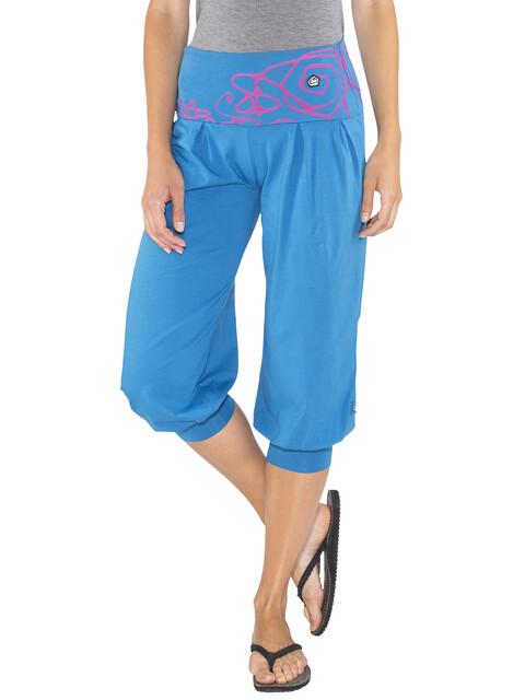 E9 Luna - Shorts Femme - bleu